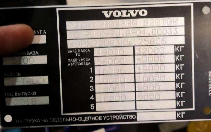 Маркировка шильдов на заводе Volvo с помощью стационарного маркиратора SIC